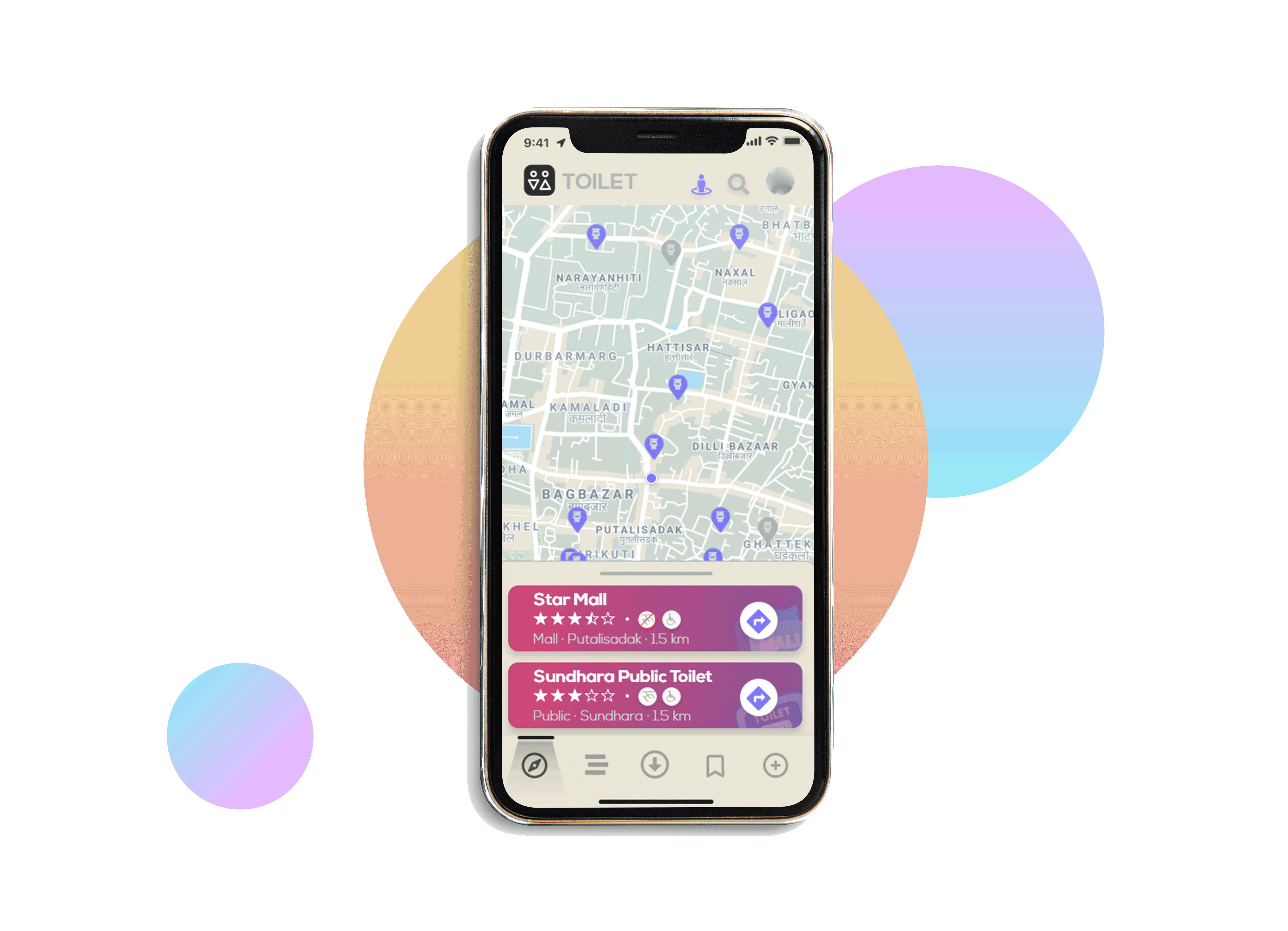 Toilet App Prototype